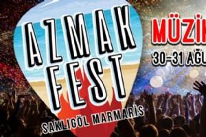 AZMAK FEST EYLÜL'DE SAKLIGÖL FESTÝVAL ALANINDA