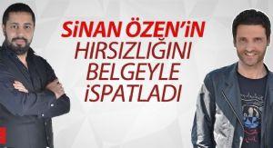 """SÝNAN ÖZEN """"ÇALMADIM"""" DEDÝ, ERKAN ÇELÝK BELGE ÝLE ÝSPATLADI!"""