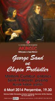 MELTEM CUMBUL GEORGE SAND OLUYOR