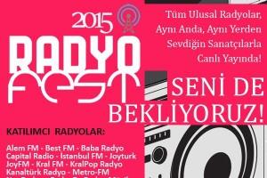 RADYO FEST�VAL� 2015, ORTAK�Y'� SALLAYACAK