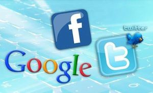 FACEBOOK, TWÝTTER VE GOOGLE'A UYARI